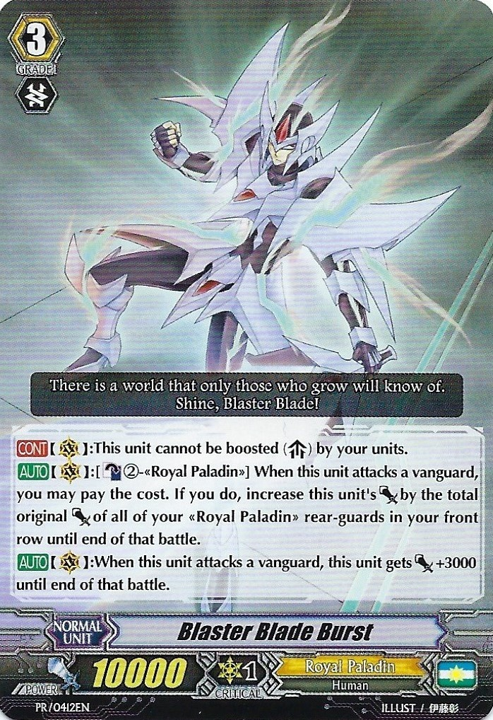 Unit of The Week: Blaster Blade Burst - Awesome Card Games