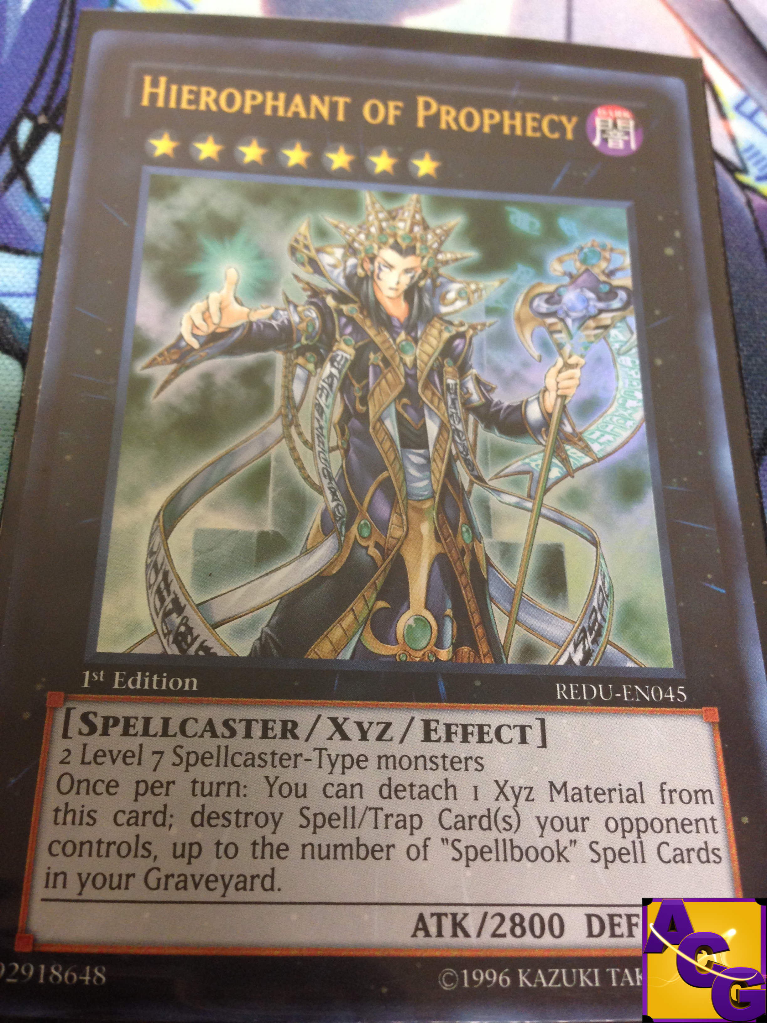 Yu-Gi-Oh! Card Review: Hierophant of Prophecy - Awesome Card