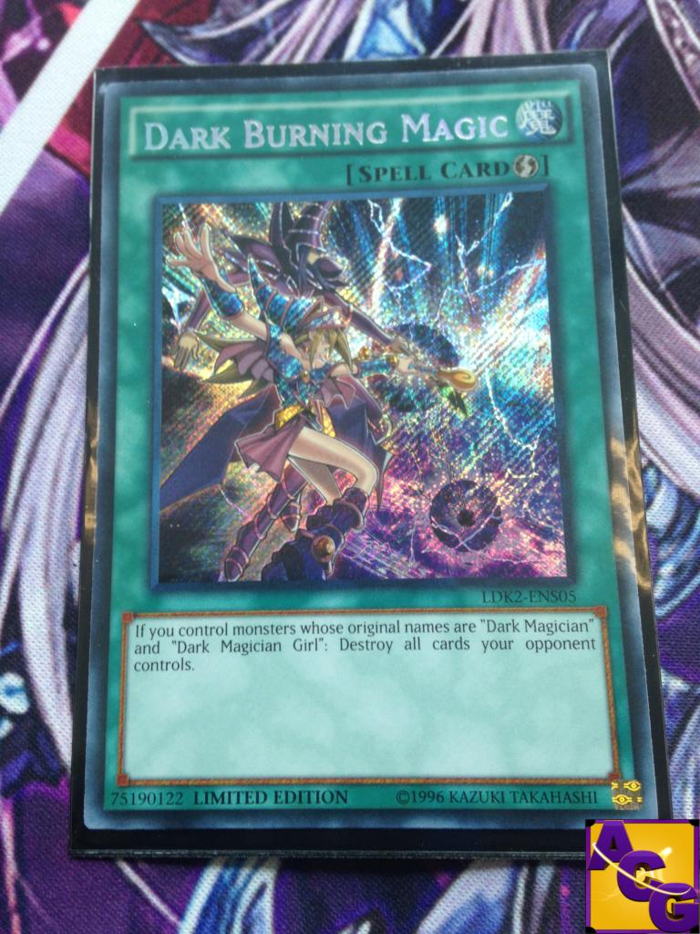 Yugioh Dark Magician Dark Magician Girl Dark Burning Magic Dark Burning...
