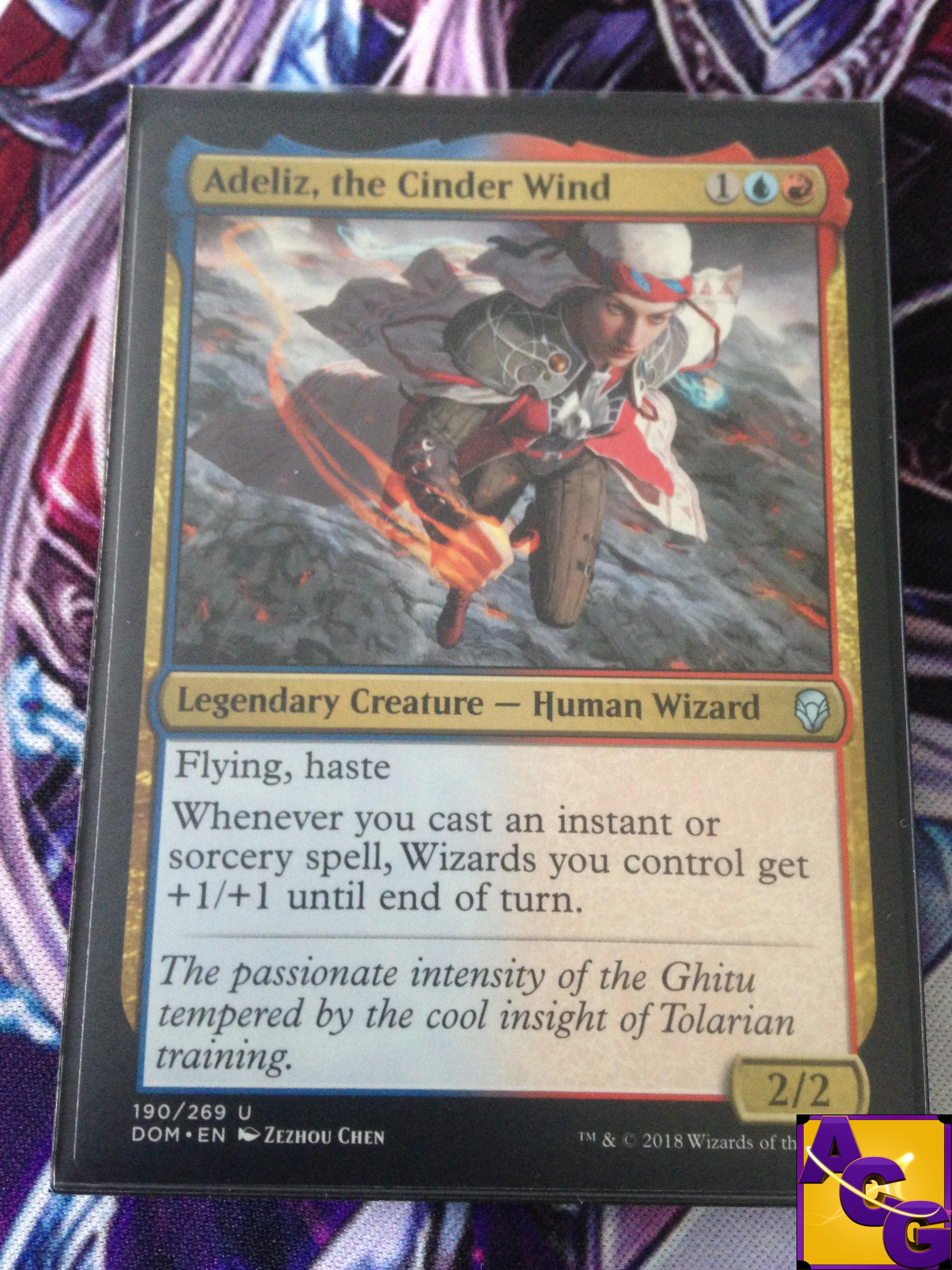the Cinder Wind Foil x1 MTG Dominaria Magic the Gathering: Adeliz