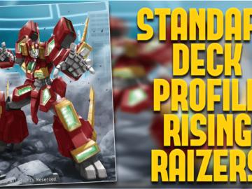 Standard Deck Profile Rising Raizers