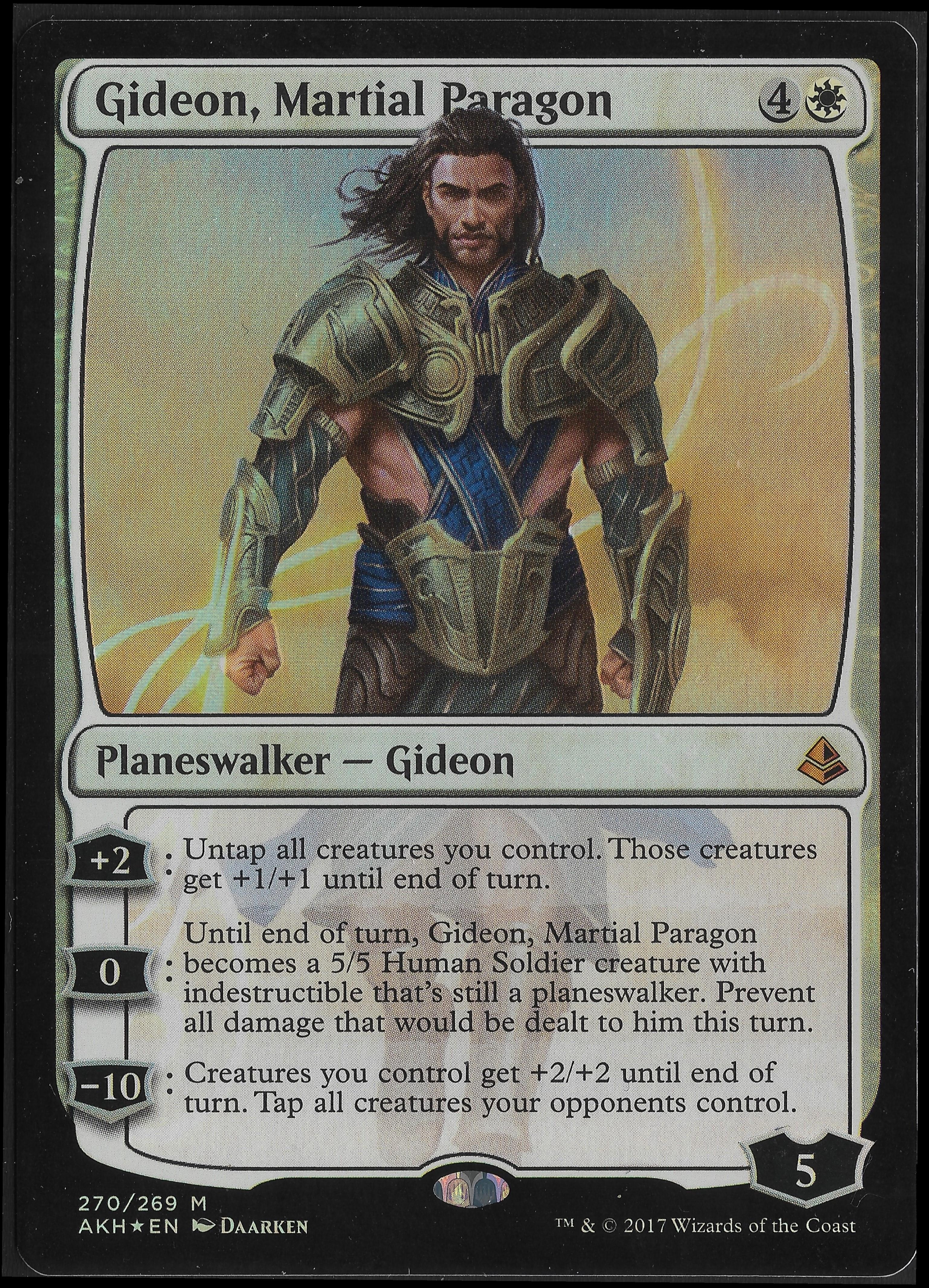 Gideon, Martial Paragon