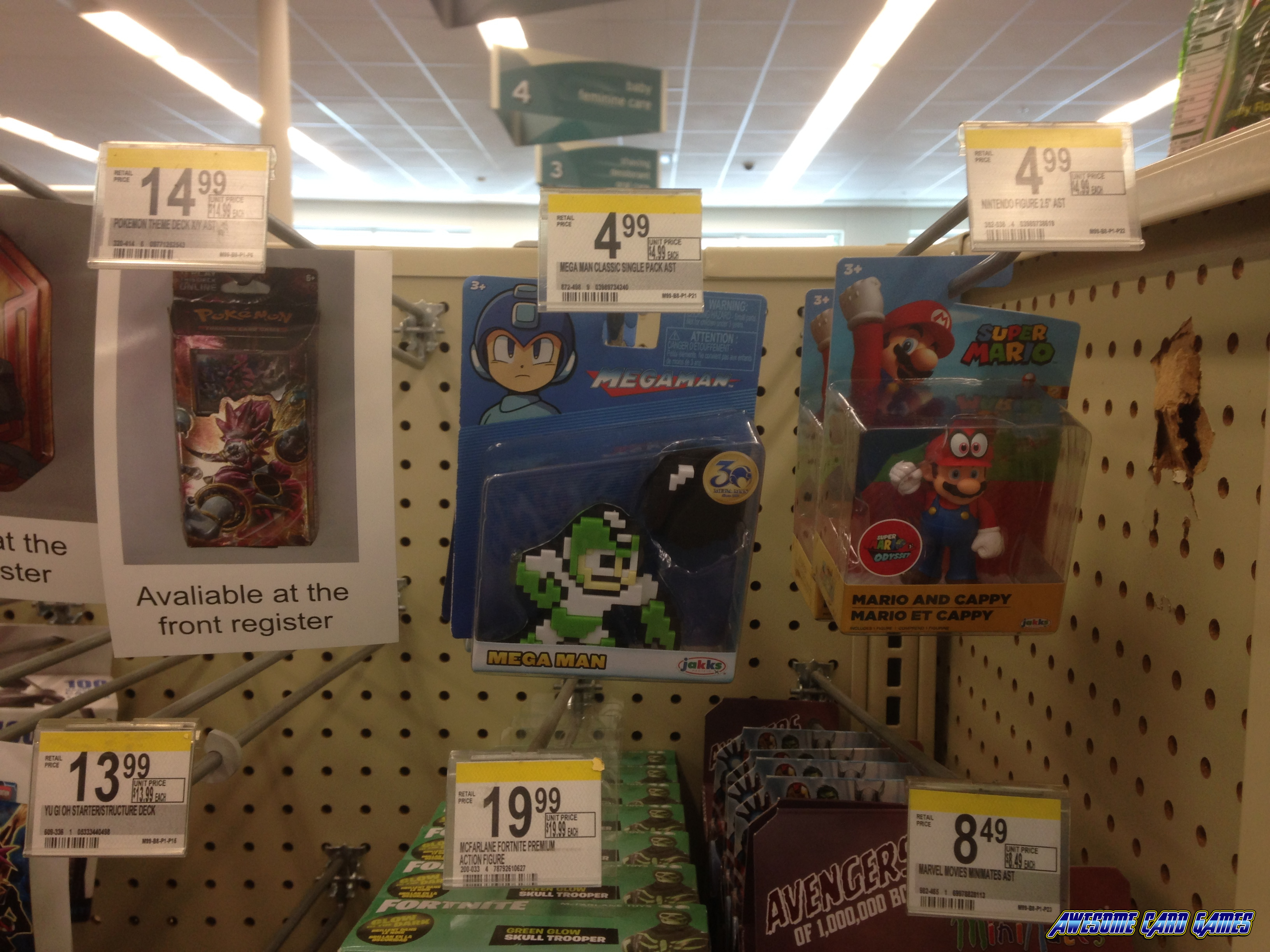MegaMan Jakks Pacific at Walgreens