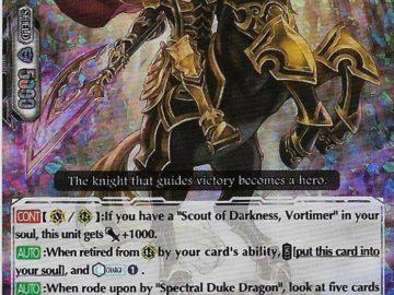 Black Dragon Knight, Vortimer (V Series)